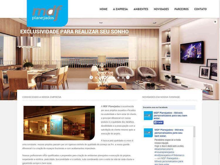 Site Mdf Planejados