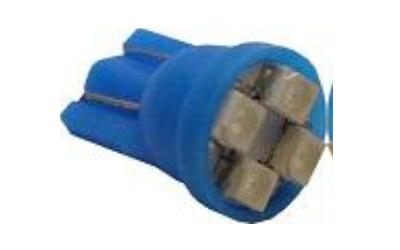 T10 4 SMD 1210 Azul 12V