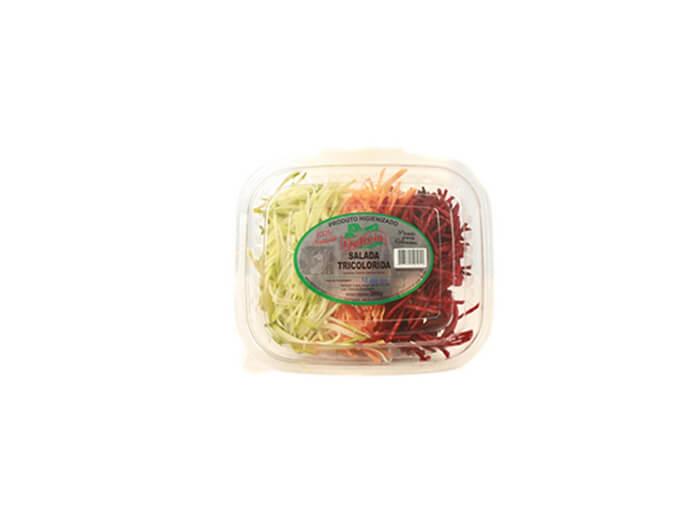 Salada Tricolorida Delícia Higienizado 300 gramas