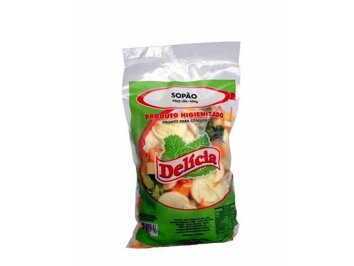 Sopão Delícia Higienizado 600 gramas