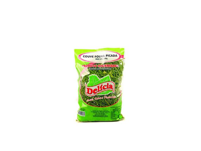 Couve Folha Picada Delícia Higienizado 200 gramas