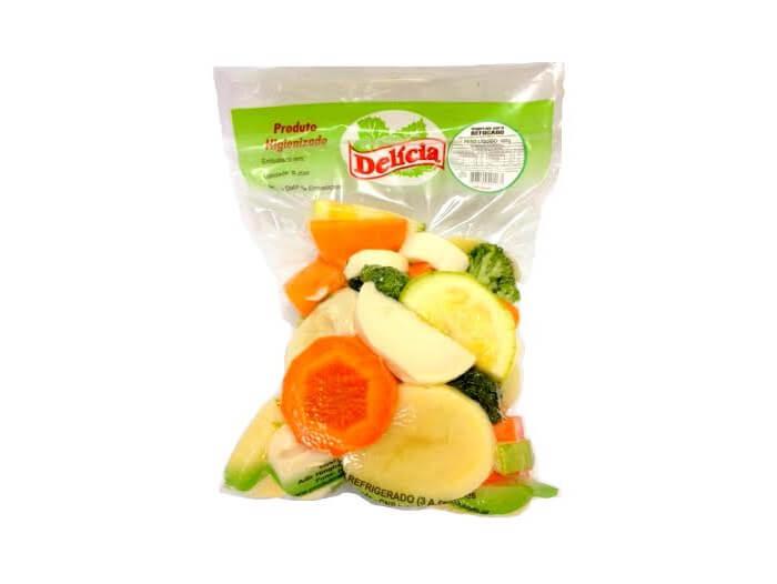 Vegetais para Refogado à Vácuo Delícia Higienizado 500 gramas