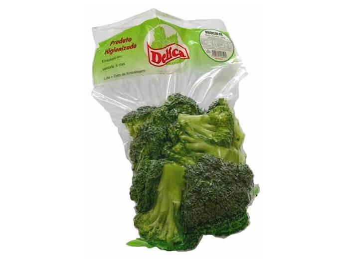 Brócolis Delícia Higienizado 250 gramas