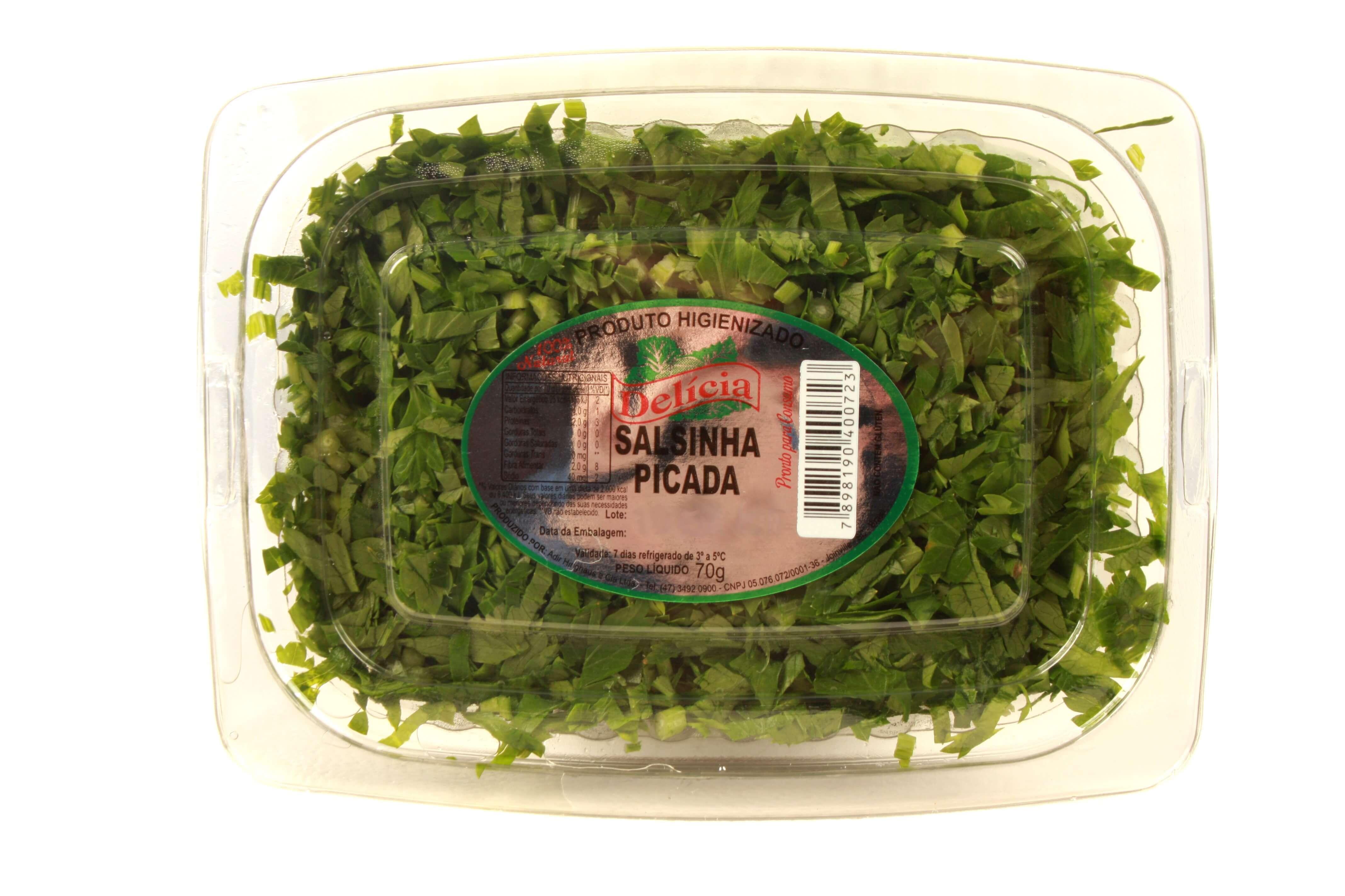 Salsinha Picada Delícia Higienizado 70 gramas