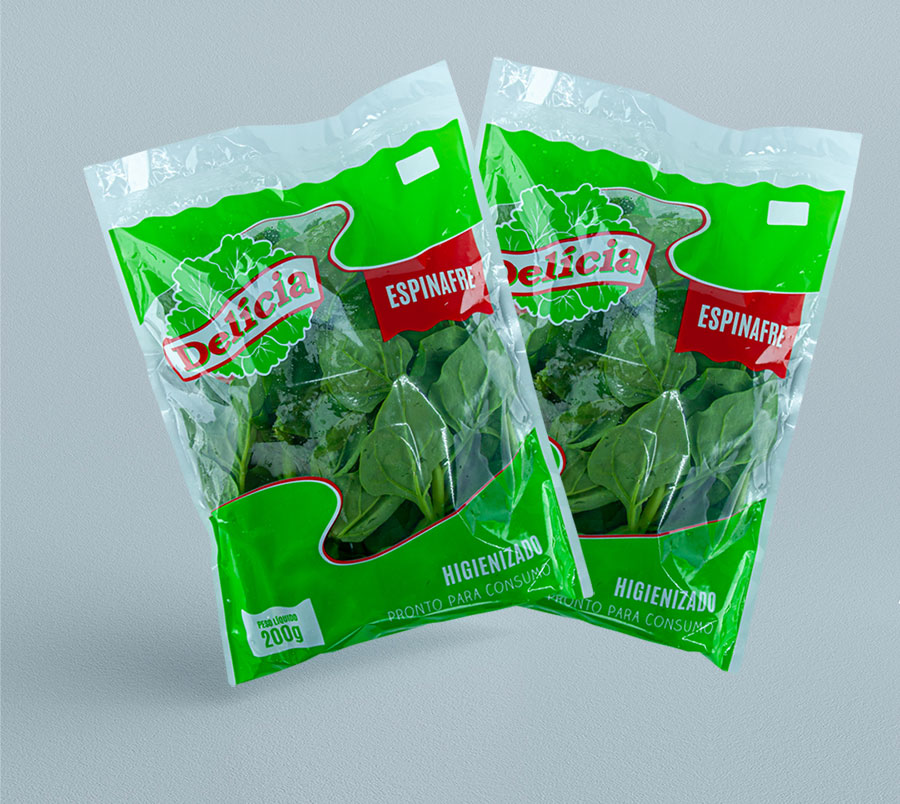 Espinafre Delícia Higienizado 200 gramas
