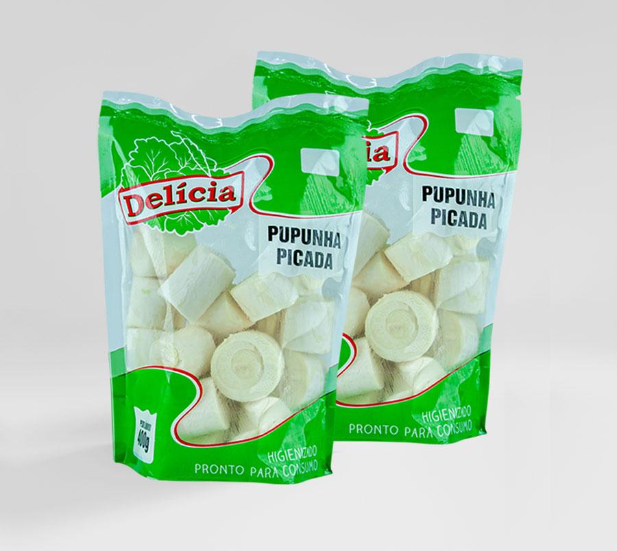 Palmito Pupunha Picado Delícia 400 gramas