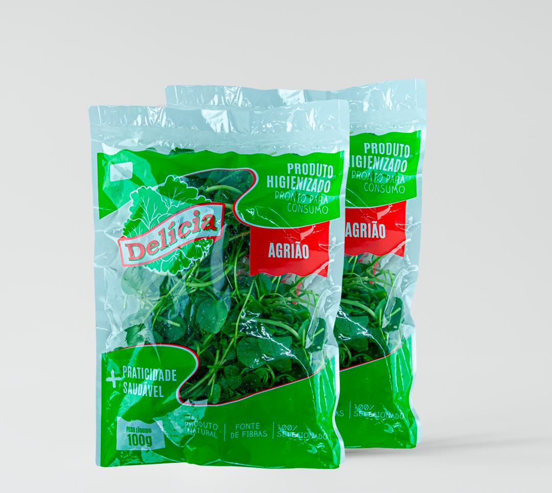 Agrião Delicia Higienizado 100 gramas
