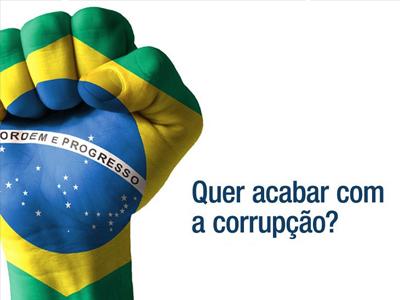 Prefeitura incorpora campanha contra a corrupção
