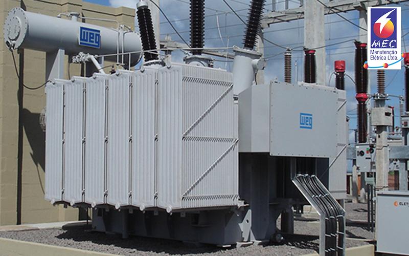 Comissionamento Ensaios Elétricos de Subestações