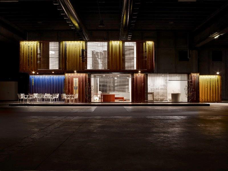 Green Frame House é um conceito construtivo projetado pelo Studio Astori - Itália