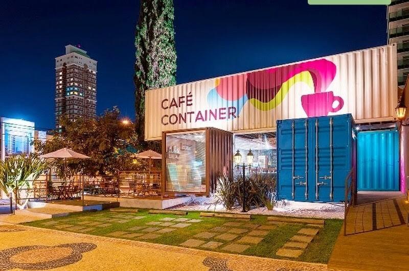 CAFÉ CONTAINER BRASIL, empreendimeto em container que cresce dia-a-dia