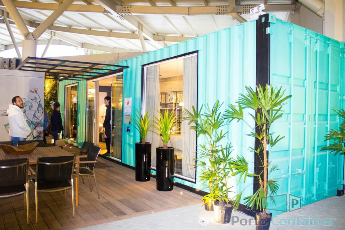 showroom casa container