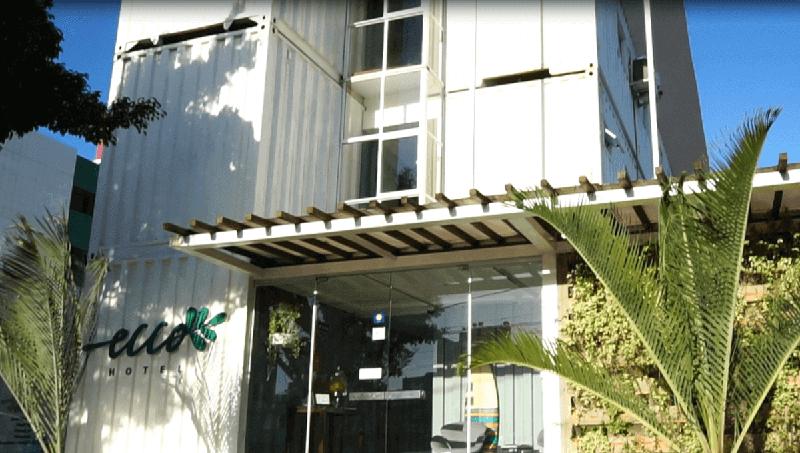 Ecco Hotel, um projeto comercial sustentável em João Pessoa.
