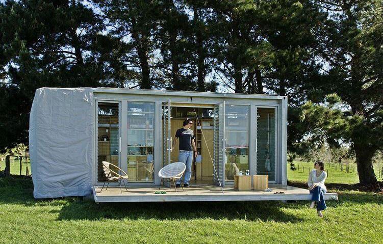 Casa de férias portátil, por Atelier Workshop