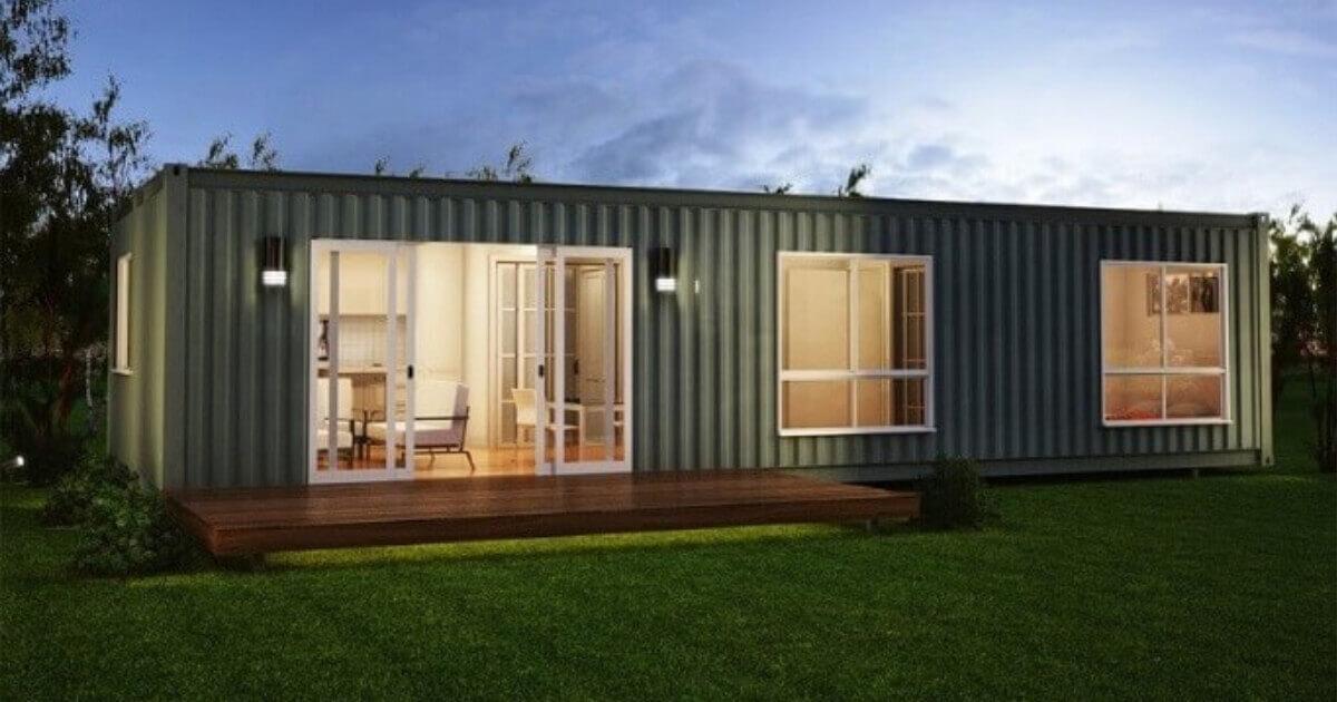 Tipos de casa container