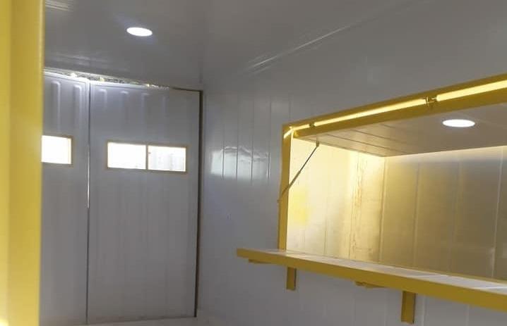 Lanchonete 15 m²
