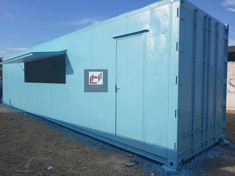Lanchonete Container 30 m²