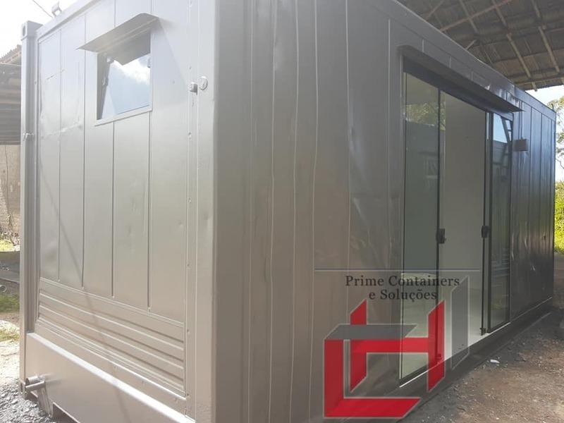 Escritório container de 6 m a partir de R$17.500,00