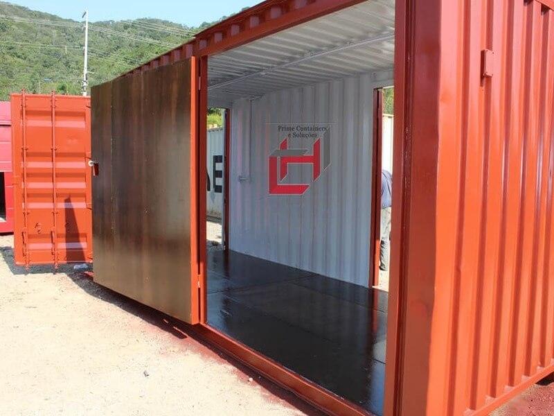 Projeto em container Dry
