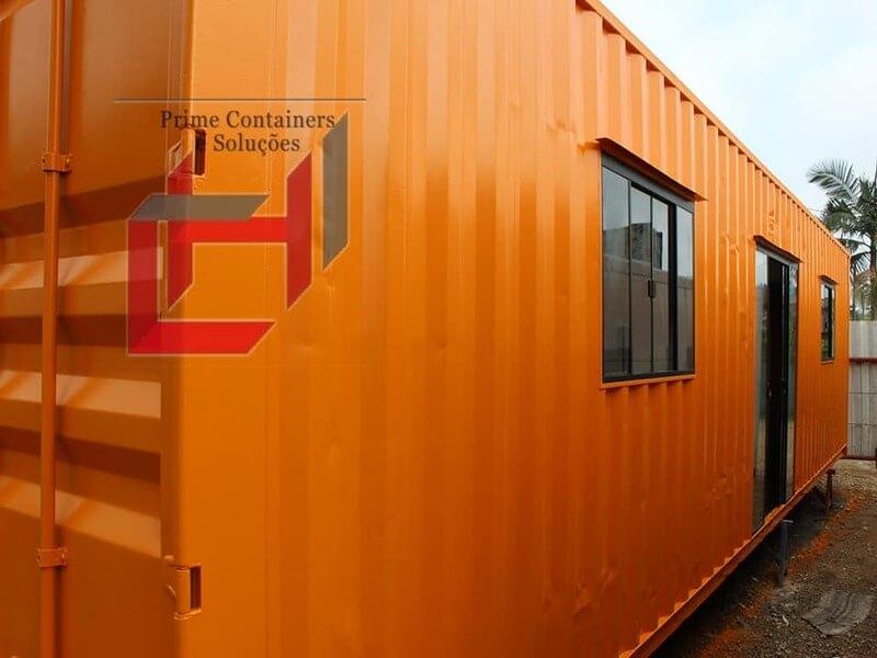 Casa em container Dry 40 pés