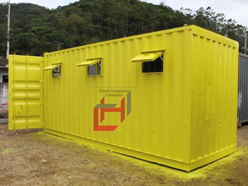 Depósito em container Dry