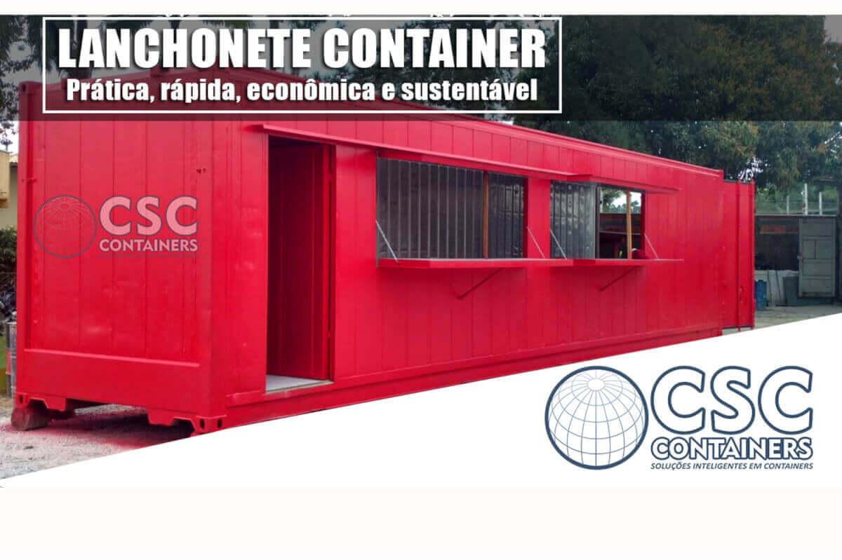 Lanchoente Container Reefer 40 pés