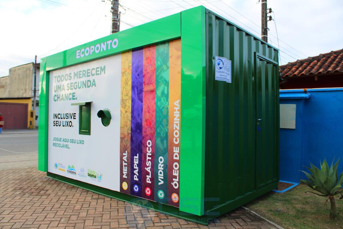 Eco Ponto Container / Sustentável e ecológico