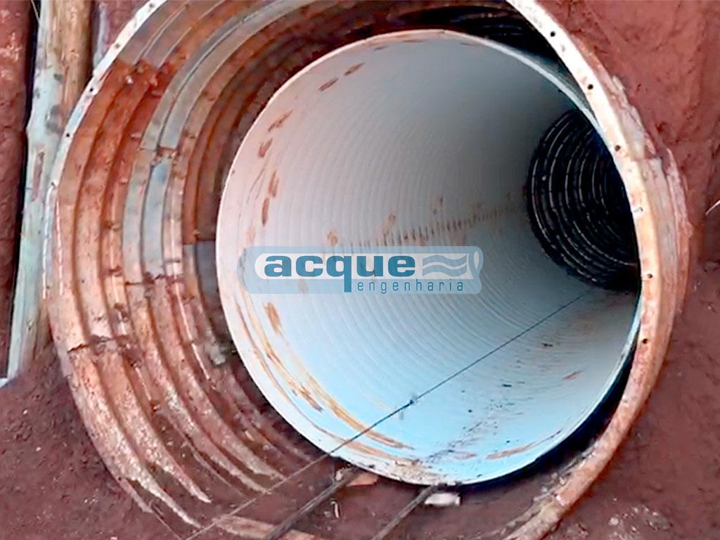 Re-line Tubos de Aço - Recuperação