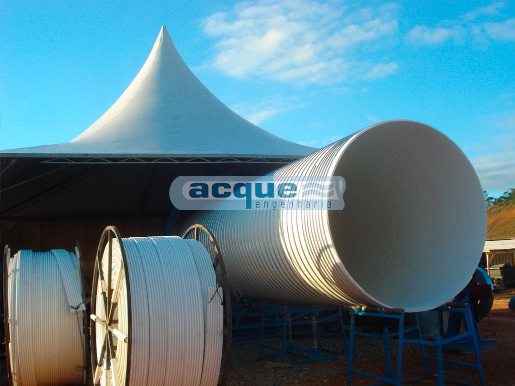 Fabricação Dos Tubos De PVC Na Obra