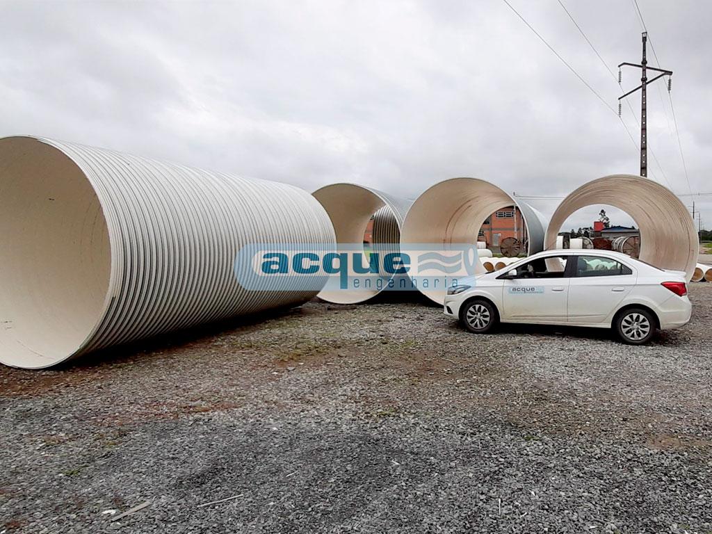 Tubos de PVC com Grandes Diâmetros