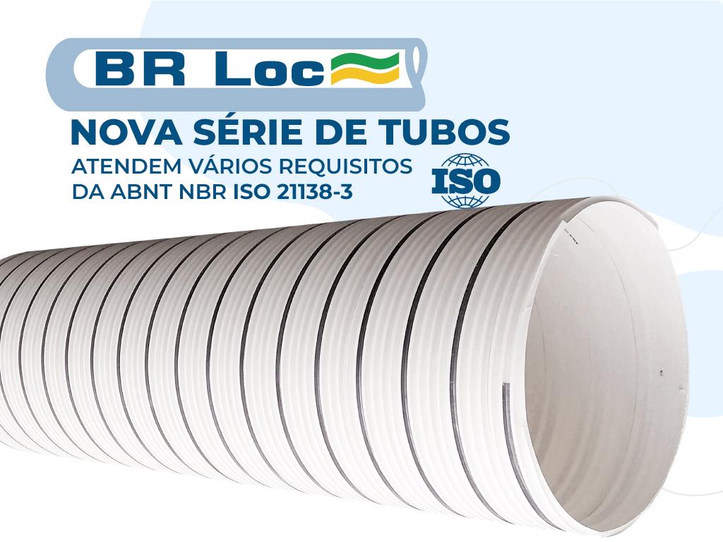 Nova Sério de Tubos de PVC BRLoc
