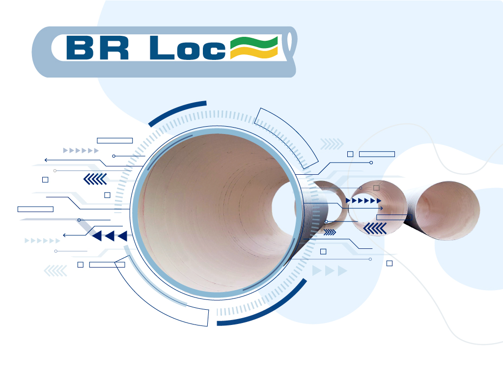 Tubos de PVC BRLoc - Tenologia Avançada